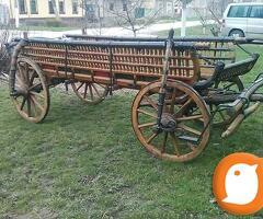 Originalna zaprezna kola, odlicno ocuvana