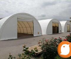 Montažne hale - skladišni šator 9.15x12m 110m2